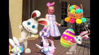 Easter Egg Hunt - Find The Easter Bunny!!!