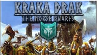 Warhammer 2 Livestream - Kraka Drak - The Norse Dwarfs (Faction Unlocker Mod)