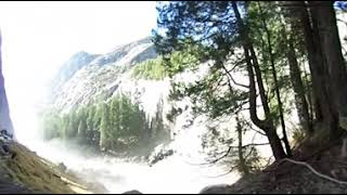 Going down Myst Trail by Vernal Fall