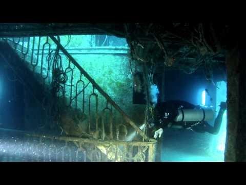 Diving with Steve Martin - Um-el-Faroud, Malta - August 2012 - Sidemount Configuration (Razor)