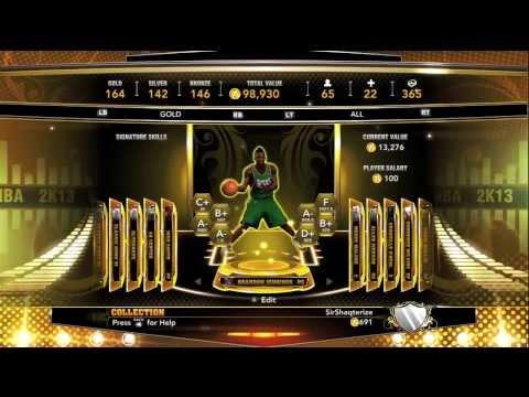 NBA 2K13:- MyTeam- Milwaukee Bucks/Detroit Piston Gold Current Day Player!!!