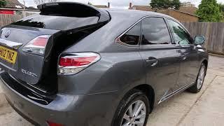 Lexus RX 3.5 Hybrid Premier CVT 4X4 4WD AUTO 5dr HK12 TNZ