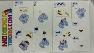 Hướng dẫn lắp ráp Lele 34036 Lego Marvel Super Heroes 76105 The Hulkbuster giá sốc rẻ nhất