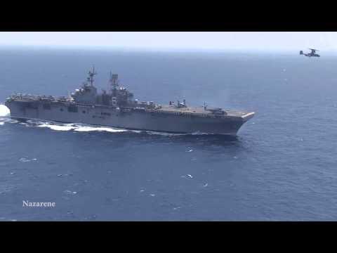 Flight Deck Operations   East China Sea