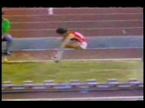 Medalists in the triple jump from 1980 Moscow olympic games