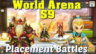 Summoners War - World Arena Season 9 Placement Battles (starring QiTian DaSheng and Okeanos)