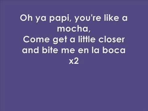 Shakira - Rabiosa LYRICS on Screen feat. Pitbull