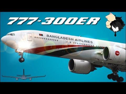 Biman Bangladesh Airlines Boeing 777-300ER Dhaka To London Business Class