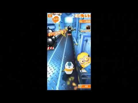 Despicable Me: Minion Rush - High Score (1,277,480) video