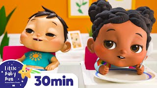 How to Eat Vegetable Song +More Nursery Rhymes and Kids Songs - ABCs and 123s | Little Baby Bum