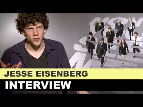 Jesse Eisenberg Interview 2013 - Now You See Me & Rio 2 : Beyond The Trailer