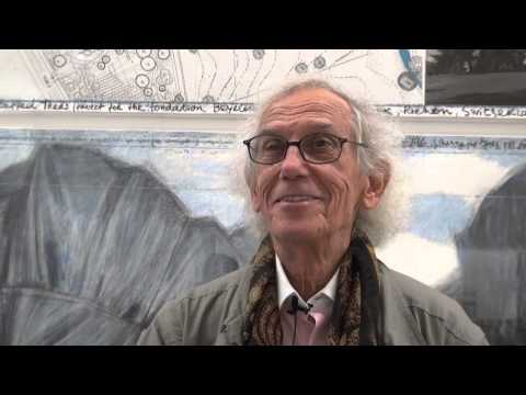 Interview with Christo at Fondation Beyeler