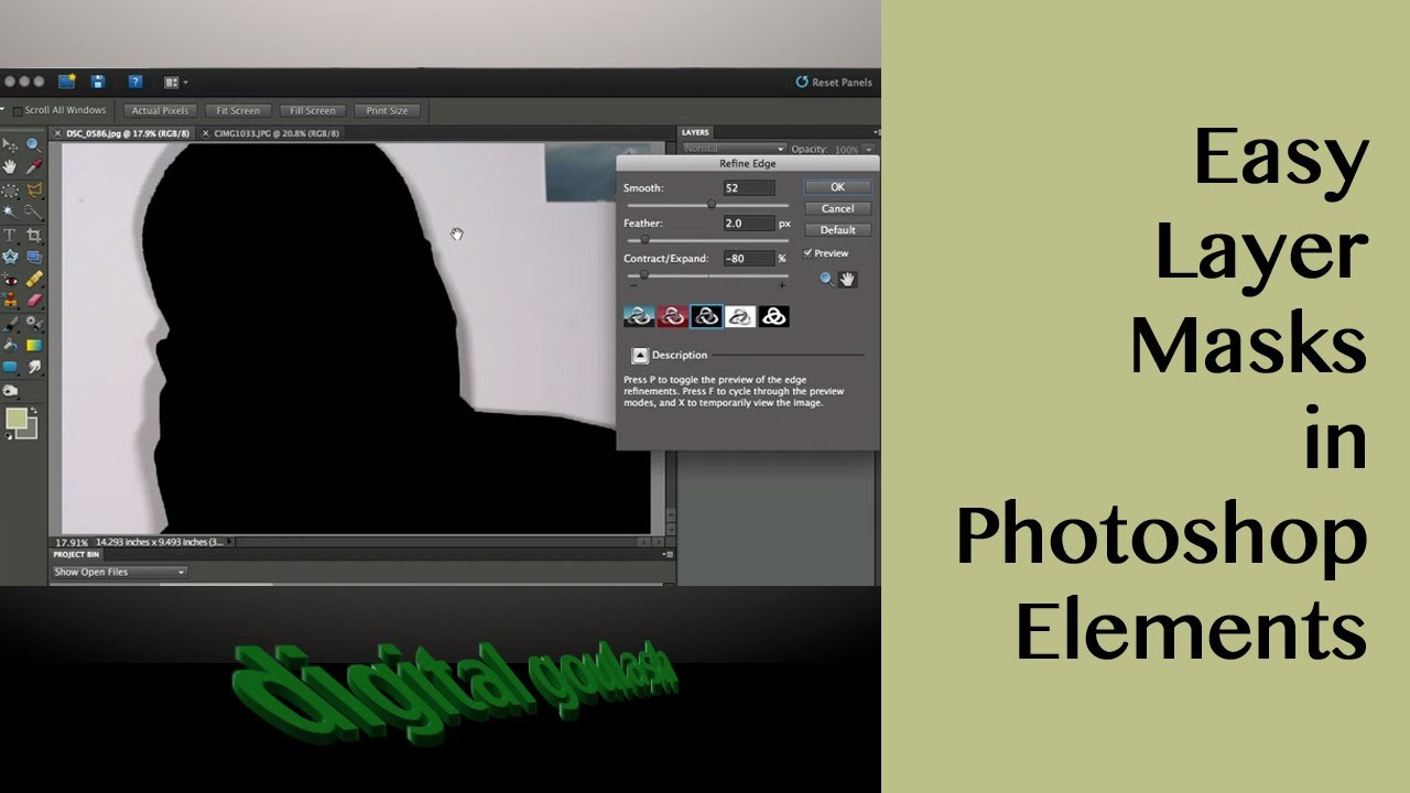 Photoshop Elements Tutorial: Editing layers in Photoshop ...