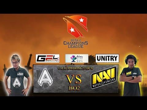 [Dota2] Champions League #4 - Alliance vs Natus Vincere Dota 2