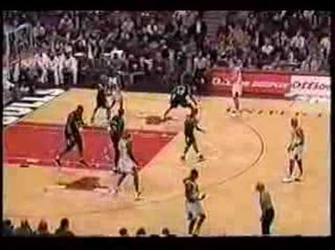 1998 Bulls vs T-Wolves, Jordan 41pts, 6r, 4a, 1s, 0 to Video