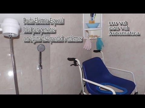 Ducha Eléctrica Especial - Ideal para personas con alguna discapacidad o enferm