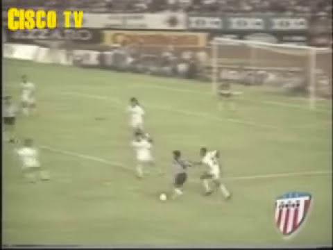 JUNIOR DE BARRANQUILLA 1993 HD (PAISAS CON COLLAR DE AREPAS Y DANDO VUELTA OLIMPICA)