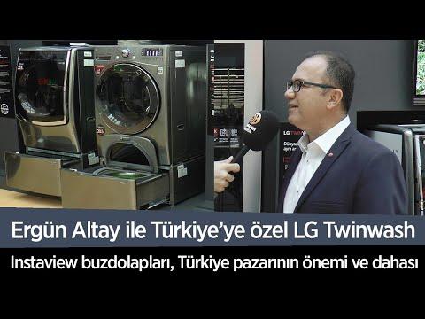 LG ile Türkiye'ye özel Twinwash ve Instaview buzdolabını konuştuk