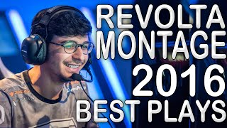 REVOLTA COMPILATION [2016] - THE KING OF SMITE - League of Legends