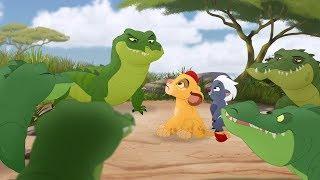 Lion Guard: Baby Kion & Baby Bunga meet Pua's Float | The Morning Report HD Clip