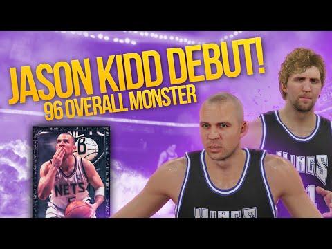 NBA 2K15 My Team ONYX JASON KIDD DEBUT! 96 OVERALL MONSTER!