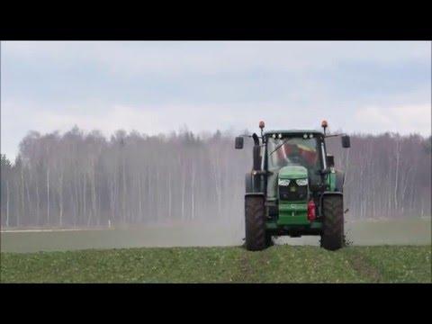 SPREADING 2016 | John Deere 6150M + Bredal K45 [www.plakys.lt]