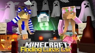 Minecraft Royal Family : FINDING LUNAS SECRET LAIR! w/Little Kelly & Little Carly