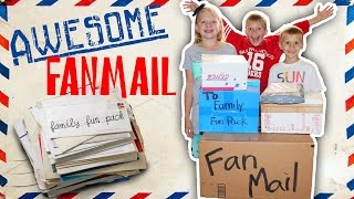 Family Fun Pack Fan Mail From Japan, Norway, UK, Canada, Australia, and USA