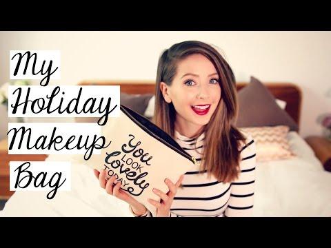 My Holiday Makeup Bag | Zoella