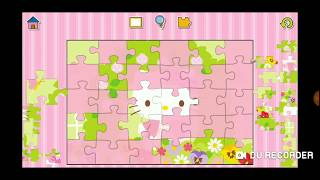 Hello Kitty Flowers Fun Jigsaw Puzzle Video For Kids Apps Gameplay