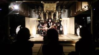 Aki-ra sunrise with Apsaras aka Erica 1 Summer Festival 2011 @谷性寺