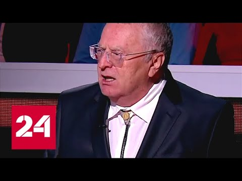 Жириновский пообещал Израилю второй Чернобыль за сбитый самолет-разведчик - Россия 24