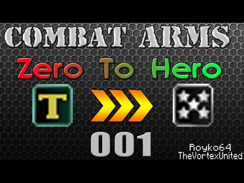 Combat Arms - Zero To Hero - Part 1: The Struggle Begins!