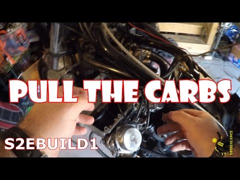s2eBuild1 - Removing Carbs from 1983 Honda Magna V65
