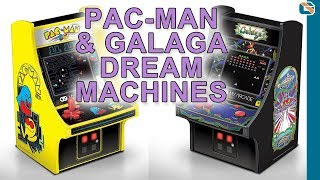 Pac-Man and Galaga Micro Player Arcade Machines Review 🎮 🕹