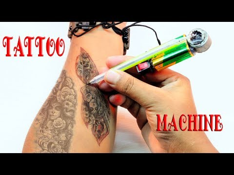 How to Make a Tattoo Machine at Home with available things