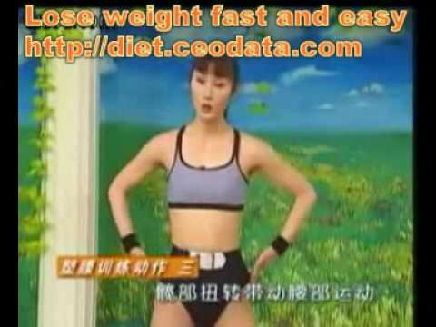 Slimnastics - waist exercises,losing fat at your waist (1) - YouTube