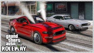 GTA 5 Roleplay - Monster Mustang Drag Dangerous Street Racing | RedlineRP #208