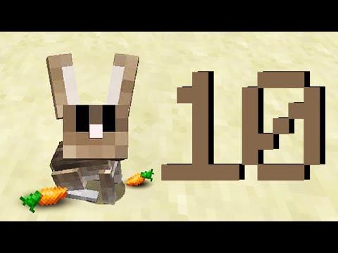 Minecraft: 10 фактов и секретов о Кроликах! Майнкрафт 1.9