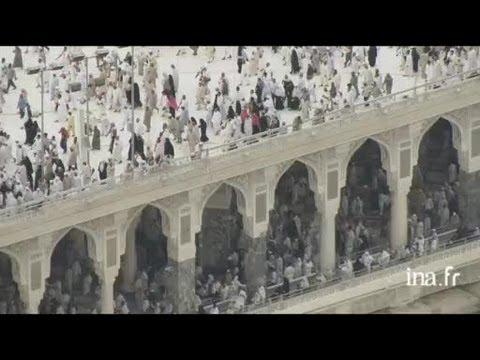Arabie Saoudite : circumambulations et prières du soir autour de la Kaaba