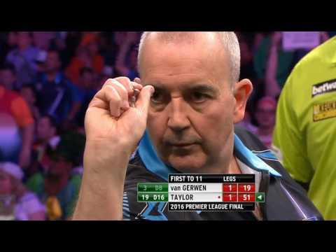 Final Premiere League darts Van gerwen  vs  Taylor