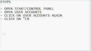 Vista Password Recovery Tutorial