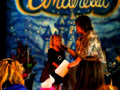 Texas Cinderella Pageant Tot