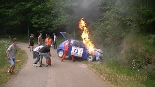 Rallye du Forez 2015 par Titi205rallye (crash du numero 73)