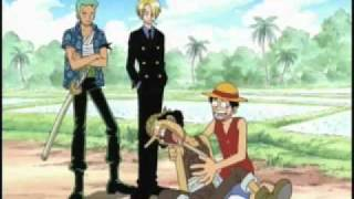 One Piece - Zoro and Sanji argue About Nami - FUNimation Dub
