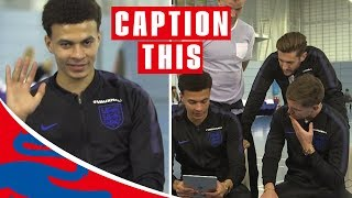 Give Us the Wave Dele! | Dele & Stones (ft. Hart, Lallana & Walker too!) | Caption This