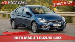 2018 Maruti Suzuki Ciaz Review AT & MT | Old Values, New Charm! | Zigwheels.com