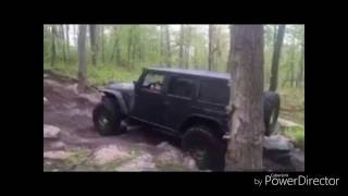 Jeep Wrangler goes for Crawlers Ridge at Rausch Creek Off Road Park PA