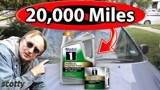 The Truth about 20,000 Mile Oil Changes - Myth Busted | Scotty Kilmer
