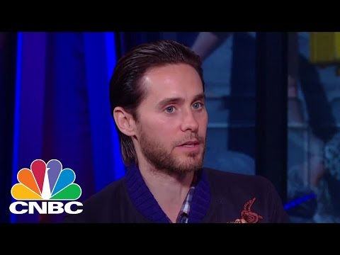 Jared Leto: Being In A Band Is Similar To A Start Up   Squawk Box   CNBC